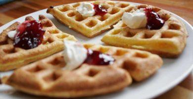 Waffles Noruegos Thermomix