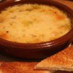 queso probolone verdura