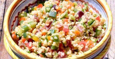 bulgur verduras thermomix