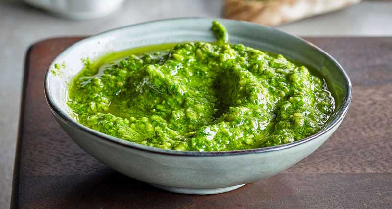 salsa pesto thermomix